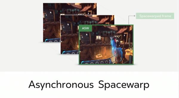 Styring af Asynchronous SpaceWarp med Oculus Rift